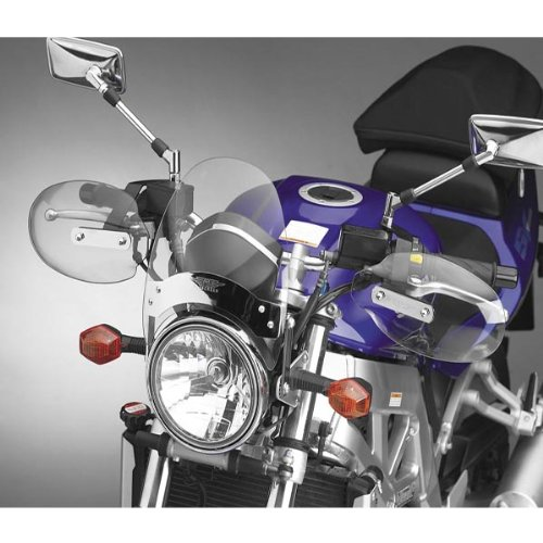 National Cycle Clear Hand Deflectors for 1999-2007 Victory V92C/SC/TC - One Size ()