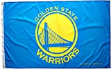 NBA Golden State Warriors Banner Flag, 3' x 5', Blue