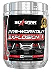 Six Star Explosion Pre Workout, Powerful Pre Workout Powder with Extreme Energy, Focus and Intensity, Fruit Punch, 30 Servings Review