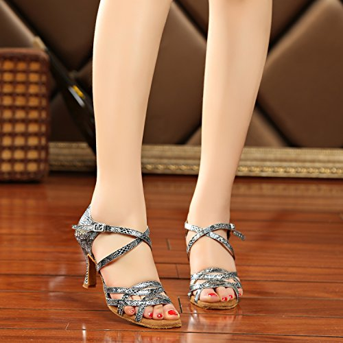 Minitoo - salón mujer Grey-7.5cm Heel