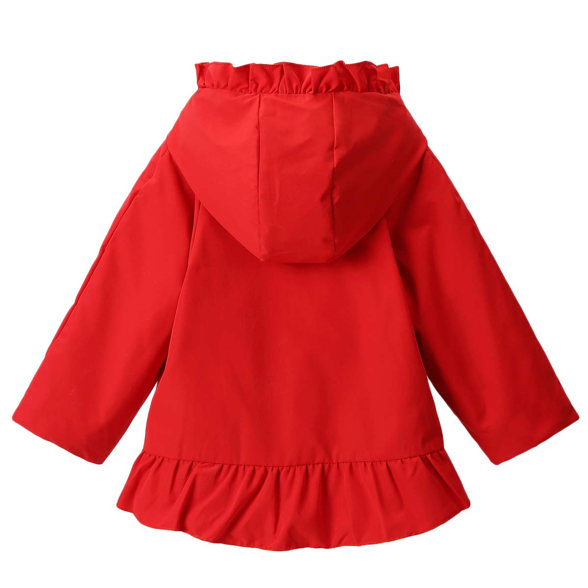 Famuka Baby M/ädchen Winterjacke Mantel Weihnachten Babykleidung
