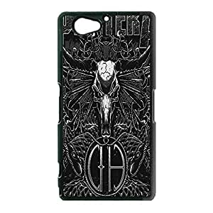 Sony Xperia Z2 Compact / Z2 Mini Phone Cover Shell, Cool Metal Skull Design Heavy Metal Band Pantera Phone Case Cover for Sony Xperia Z2 Compact / Z2 Mini