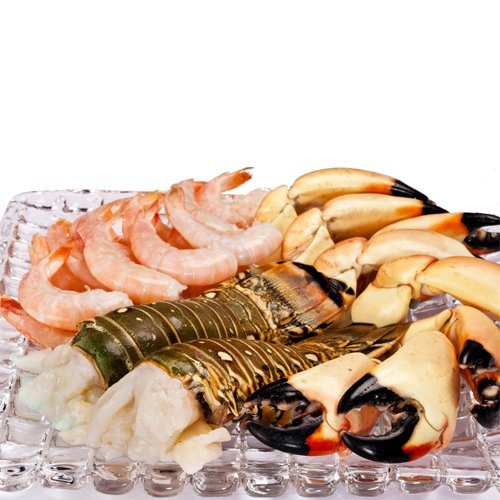 Fresh Seafood Sampler by Francesca's Favorites