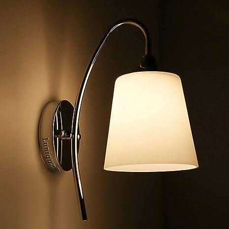 Applique Per Camera Da Letto.Luniquz Lampada Da Parete Led Applique Led Moderno Stile Semplice