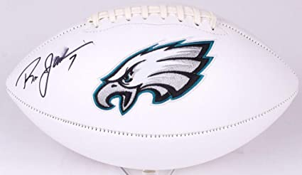 da3a6449d85 Ron Jaworski Autographed Signed Philadelphia Eagles Logo Football - JSA  Certified