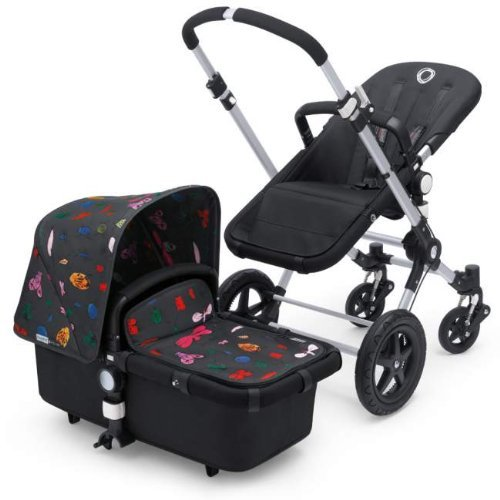 Bugaboo Cameleon 3 Base With Andy warhol Bugs Fabric (Grey Base)