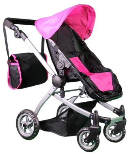 Mommy & Me Deluxe Babyboo Doll Stroller