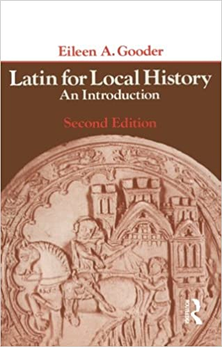 Book Latin for Local History: An Introduction (Longman)
