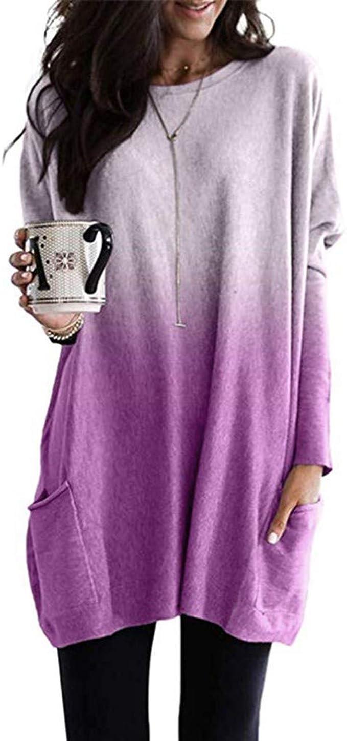 Reooly Sudadera con Capucha Estampada con Letras de Moda para Mujer Blusa de Manga Larga: Amazon.es: Ropa y accesorios