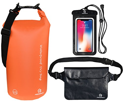 Freegrace Waterproof Dry Bags Set