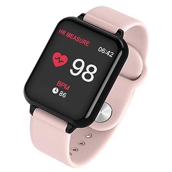 BOBOLover Reloj Inteligente,Pulsera de Actividad Inteligente Reloj Deportivo Reloj Digital Reloj Automatico GPS Pulsómetro Monitor de Ritmo Cardíaco ...