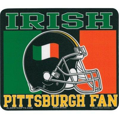 Mouse Pad Irish Pittsburgh Fan Rectangle