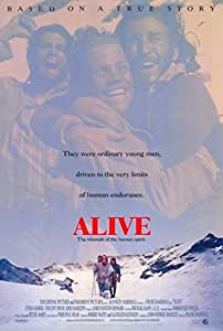 Alive Movie Poster (68,58 x 101,60 cm)