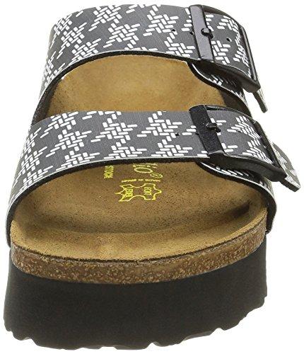 with Black Black ARIZONA Knotted sandals Women's Papillio platform 364043 wnqPExvH