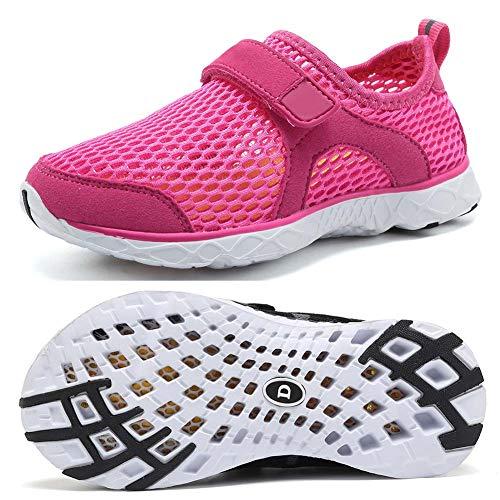 DESTURE Toddler Boys Water Shoes Lightweight Quick Dry Girl Sport Aqua Shoe Outdoor Athletic Sneakers (Little Kid/Big Kid),U519SSXT001,D.Rose,24 (Shoes Aqua Toddler)