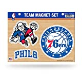 Rico NBA Philadelphia 76ers Die Cut Team Magnet Set Sheet