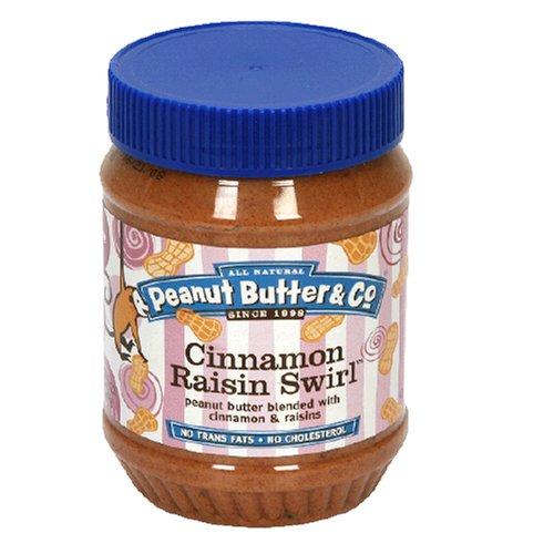 Peanut Butter & Co. Cinnamon Raisin Swirl, 16-Ounce Jar (Pack of 4)