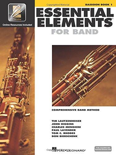1 Book Music Bassoon (Essential Elements 2000: Bassoon Book 1)