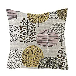 FakMe Style of Art Pillow Cases Linen Sofa Cushion Cover Home Decor Pillow Core