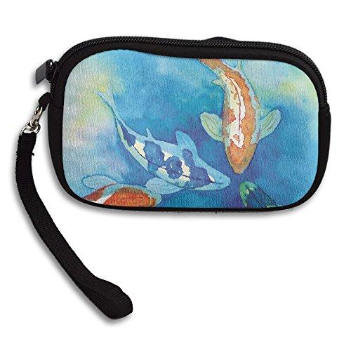 Koi Printing Small Deluxe Fish Portable Cute Bag Receiving Purse ZfPnzq