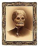HUGE Demon Monster Granny Hazel LENTICULAR PICTURE PORTRAIT Halloween Prop Decor