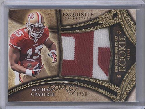 Michael Crabtree; Jeremy Maclin #31/50 (Football Card) 2009 Upper Deck Exquisite Collection - Big Patch Match Up Rookies #MCJM