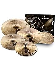 Zildjian K Custom Dark - Juego de platillos, Dark Cymbal Set, Multicolor, inch
