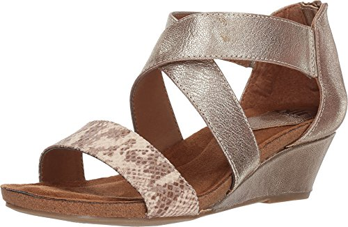 Sofft Gold Sandals - Sofft Women's Kera Satin Gold 10 M US