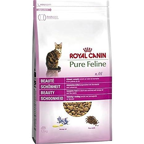 Royal Canin pienso para gatos Pure Feline Belleza: Amazon.es: Productos para mascotas