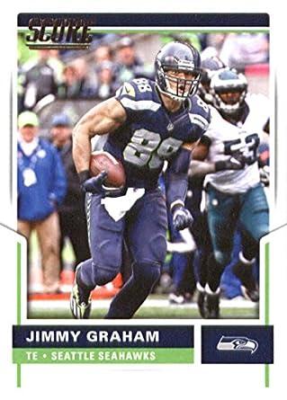 amazon com 2017 score 34 jimmy graham seattle seahawks football