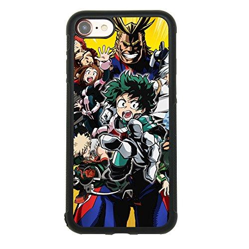Amazon.com: Anime My Hero Academy - Carcasa para iPhone 7 ...