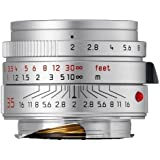Leica 35mm f/2.0 SUMMICRON-M Aspherical Lens, Silver
