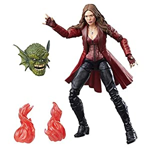 Marvel 6-Inch Legends Series Scarlet Witch - 51kWOGOxEHL - Marvel 6-Inch Legends Series Scarlet Witch