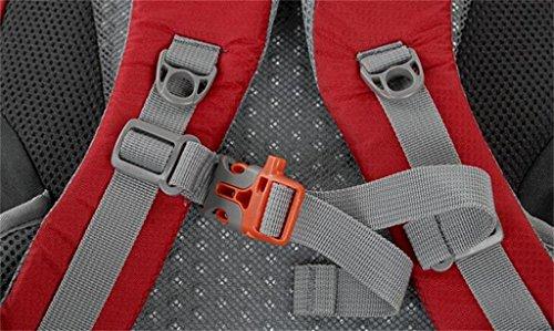 30 + 5L all'aperto corsa di svago borse alpinismo pacchetto escursioni zaino ( colore : Army Green , dimensioni : 30+5L )
