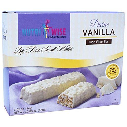 NutriWise - Divine Vanilla Protein Diet Bar by NutriWise