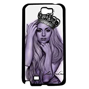 Purple Lady Gaga with Queen's Crown On (Note 2 II)