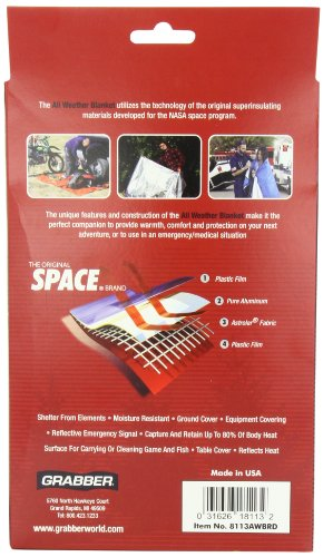 Grabber Space All Weather Blanket