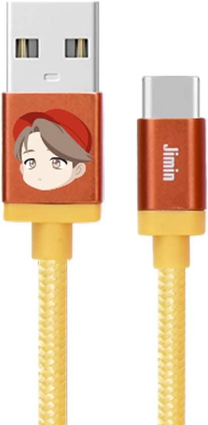 Type C Cable/_SUGA BTS Character Cables