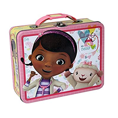The Tin Box Company 927607-12 Doc McStuffins Carry All Tin- Assorted: Toys & Games
