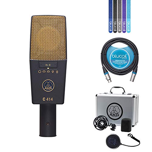 AKG C414 XLII Multi-Pattern Condenser Microphone for for sale  Delivered anywhere in USA