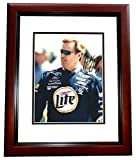Signed Rusty Wallace Picture - Racing 8x10 MAHOGANY CUSTOM FRAME - PSA/DNA Certified - Autographed Photos