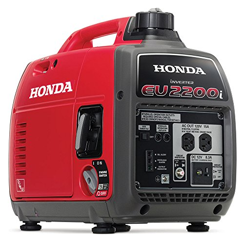 Honda EU2200i 2200-Watt Super Quiet Gas Power Portable Inverter Generator (Honda Inverter Generator Eu2000i)