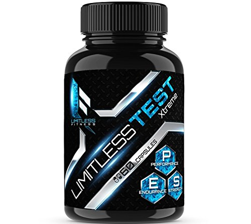 Limitless TEST | Testosterone booster| Testosterone booster for men | Booster supplement | Test booster | For energy