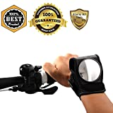 MeanHoo 1 PCS Bicycle Rear View Mirror Bike Wristbands Viewfinder Retroreflector Wrist cycle Accessories Rear View Mirror Safety Mirror Bicycle Parts