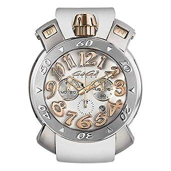 wholesale dealer 424e7 ba7f3 Amazon | [ガガミラノ] 腕時計 メンズ レディース 時計 MANUALE ...