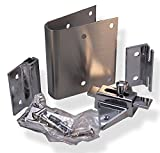 Fix It Latch Kit for Restroom Partitions - for 1'' Curved Edge Doors - Inswing