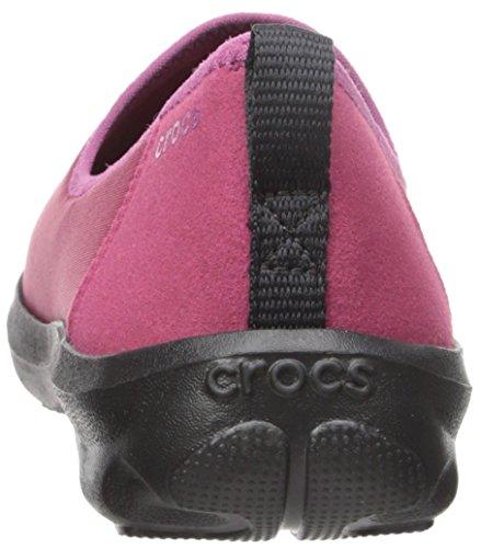 ... Crocs Kvinners Travel Dag Strekning Skimmer Sneaker Plomme ...