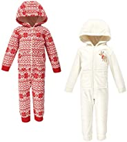 Hudson baby Unisex-Baby Fleece Jumpsuits, Coveralls, and Playsuits