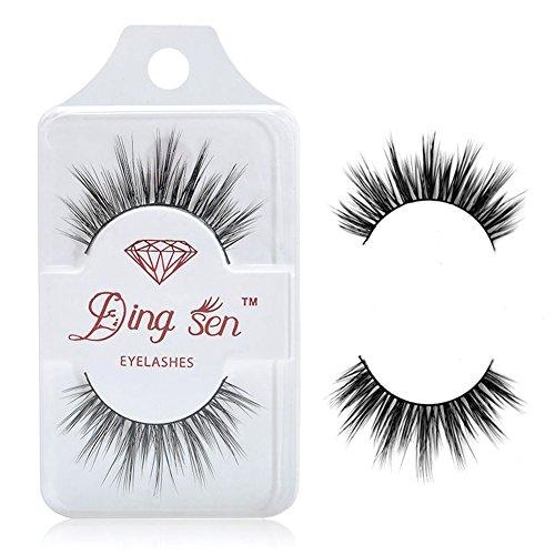 Gracefulvara 100% Natural Real Mink Thick Makeup Eye Lashes False Eyelashes