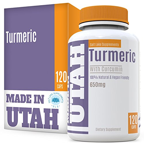 Turmeric Curcumin with Bioperine - Best Absorption and Bioav